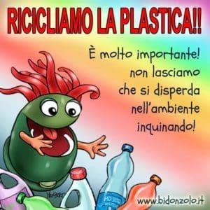 ricliamo la plastica