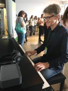 Stefano al Yamaha Music School