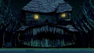 5-monster house - casa di notte