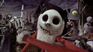 7-nightmare before christmas - jack e mostriciattoli