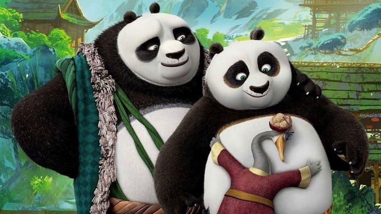 Il ritorno di Po, panda guerriero