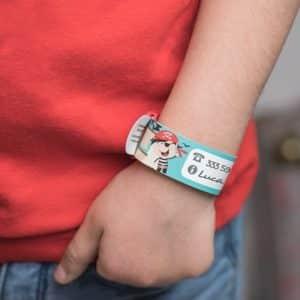 braccialetto identificativo Ludilabel