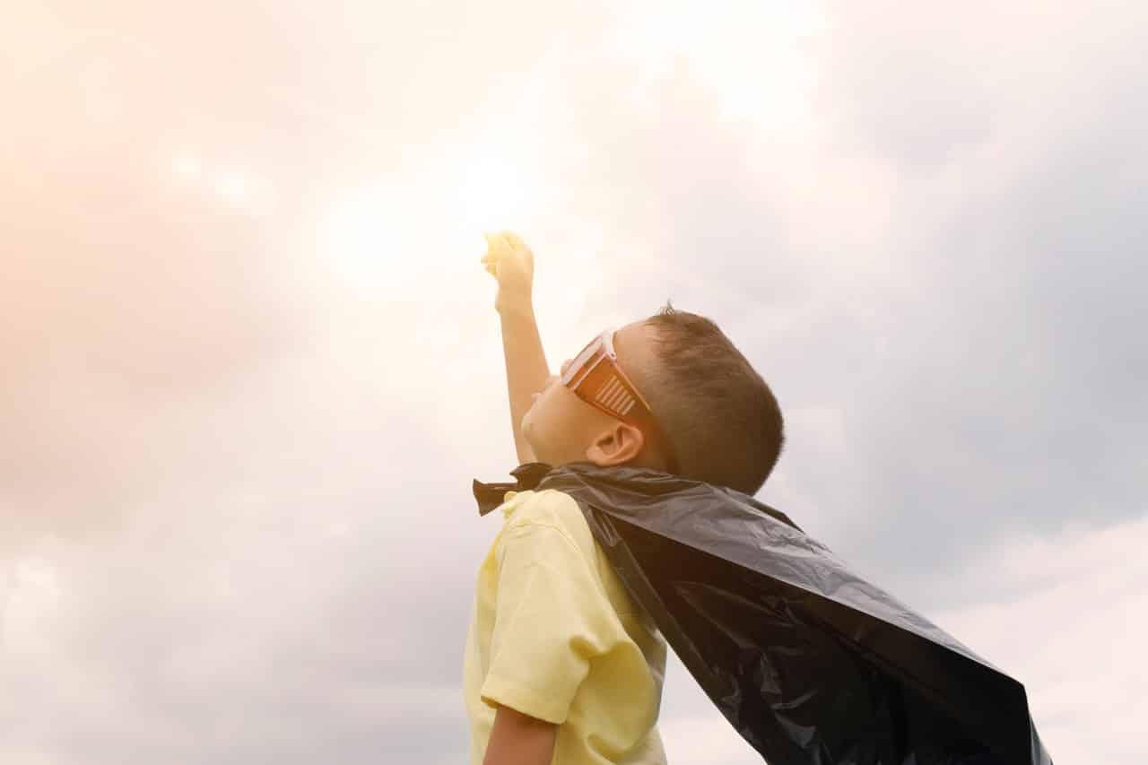 autostima dei bambini, bambino sicuro di sé