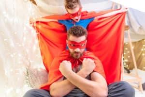 i superpoteri di superpapà