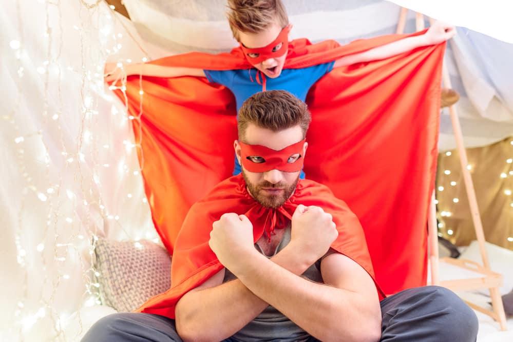 Tutti i superpoteri di Superpapà!