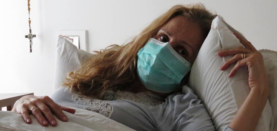 Segregata, una madre contro il coronavirus